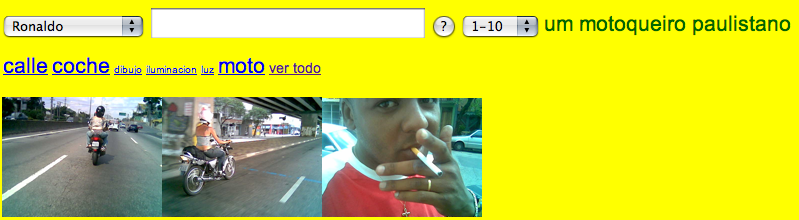 The project Motoboy, implemented in São Paulo in 2007 by Antoni Abad was actually the starting point for the series Canales (2005-2006) at www.zexe.net.